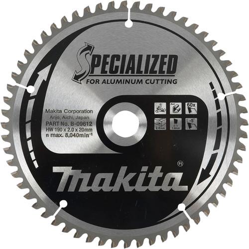 Makita Zaagblad HM aluminium 260x30x2.4mm 100T B-09662 Main Image