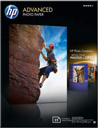 HP Advanced Glossy Photo Paper 25 sheets (13 x 18) Main Image