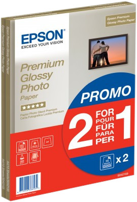 Epson Premium Glossy Photo Paper 30 sheets (A4) Main Image