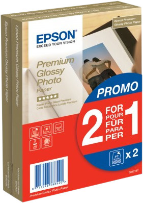 Epson Premium Glossy Photo Paper 80 sheets (10 x 15) Main Image