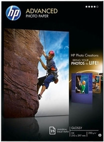 HP Advanced Glossy Photo Paper 25 sheets (A4) Main Image