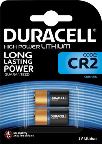 Duracell High Power Lithium CR2-batterij 3V 2 stuks Main Image