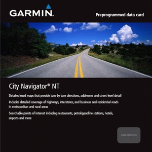 Garmin City Navigator NT Benelux + France (microSD / SD) Main Image