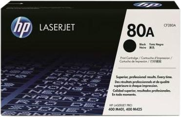 HP 80A Toner Cartridge Black Main Image