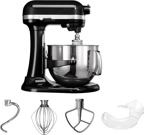 KitchenAid Artisan Mixer 5KSM7580XEOB Bowl-Lift Onyx Zwart Main Image