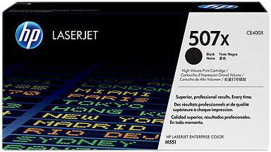 HP 507X Toner Zwart (Hoge Capaciteit) Main Image
