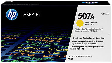 HP 507A Laserjet Toner Geel (CE402A) Main Image