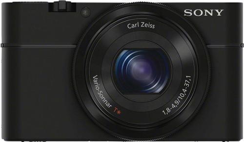 Sony CyberShot DSC-RX100 Black Main Image