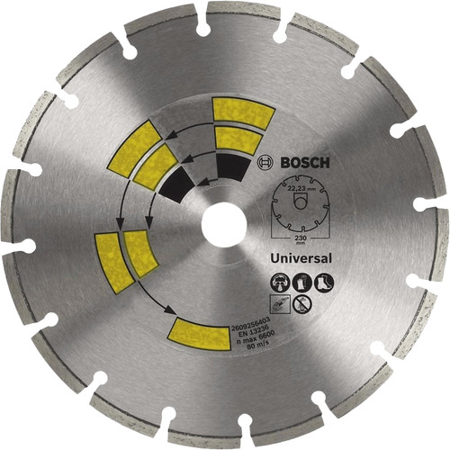 Bosch Diamond disc Universal 230 mm Main Image