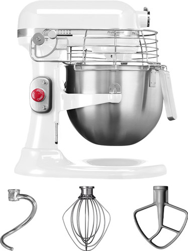 KitchenAid Professional Mixer 5KSM7990XEWH 6,9L Wit Main Image