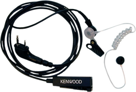 KENWOOD KHS-8BL Security headset Main Image