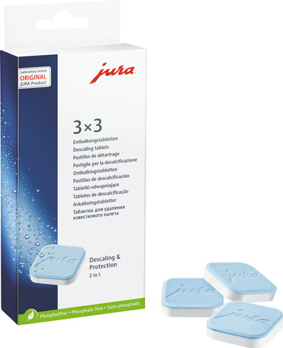 Jura Descaling tablets 3x 3 units Main Image