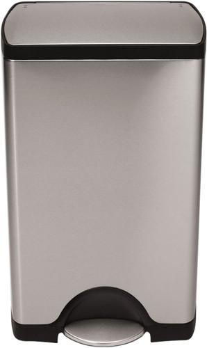 Simplehuman Rectangular Classic 38 Liter RVS Mat Main Image