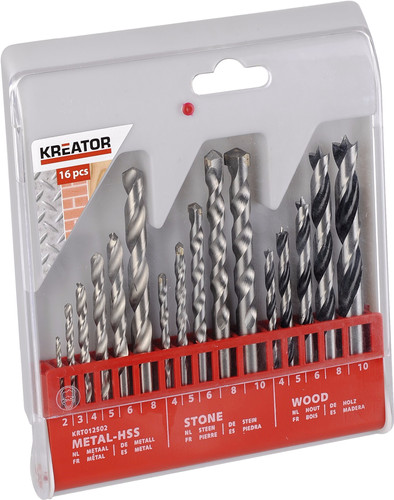 Kreator Borenset Metal / Stone / Wood 16-piece Main Image