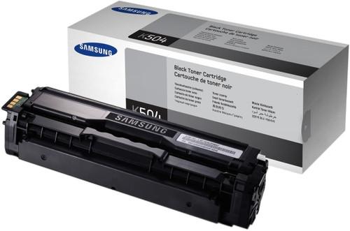 Samsung CLT-K504S Toner Zwart Main Image