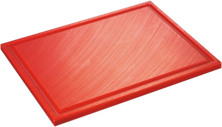 Inno Cuisinno Horeca Chopping board with crease 32,5 cm Red Main Image