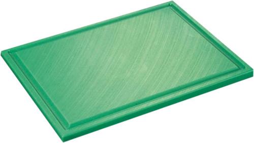 Inno Cuisinno Horeca Snijplank met ril 32,5 cm Groen Main Image