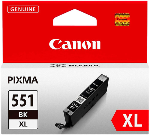 Canon CLI-551XL Cartridge Zwart Main Image
