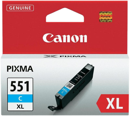 Canon CLI-551XL Cartridge Cyan Main Image