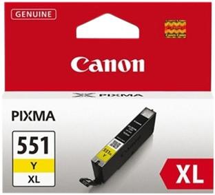 Canon CLI-551XL Cartridge Yellow Main Image