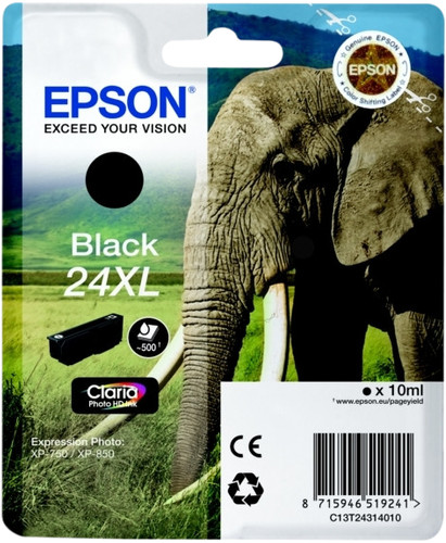 Epson 24XL Cartridge Black Main Image