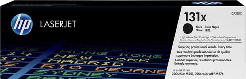 HP 131X LaserJet Toner Zwart High Capacity (CF210X) Main Image