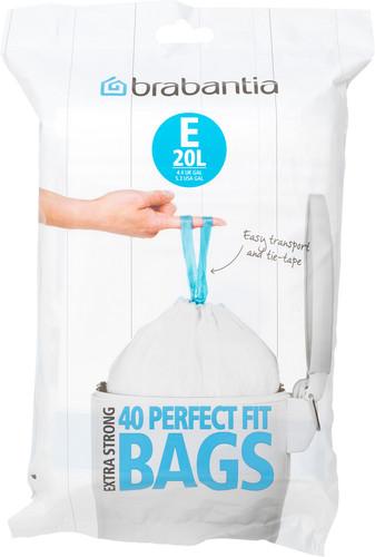 Brabantia Vuilniszakken Code E - 20 Liter (40 stuks) Main Image