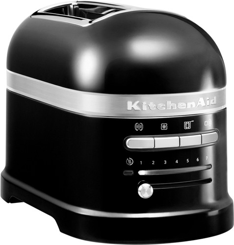 KitchenAid Artisan Toaster Onyx Black 2 slots Main Image