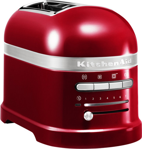 KitchenAid Artisan Toaster Apple Red 2 slots Main Image