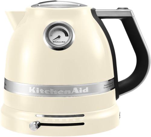 KitchenAid Artisan Kettle Almond White Main Image