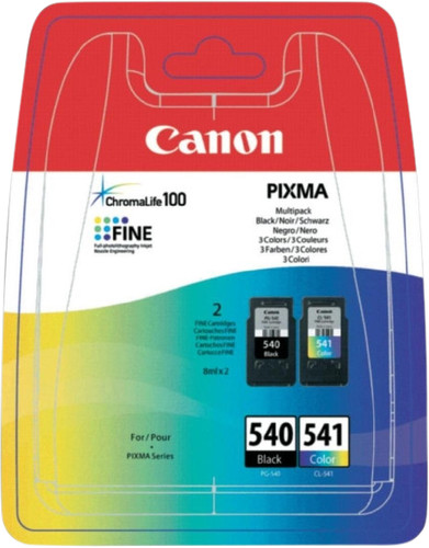 Canon PG-540/CL-541 Cartridges Combo Pack Main Image