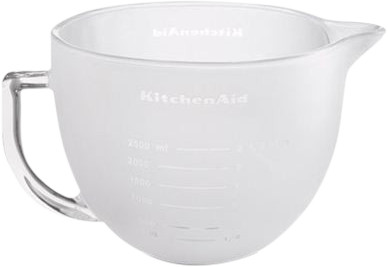 KitchenAid 5K5GBF Milk Glass Bowl 4.83L Main Image