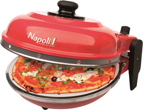 Optima Napoli Pizza Oven Red Main Image
