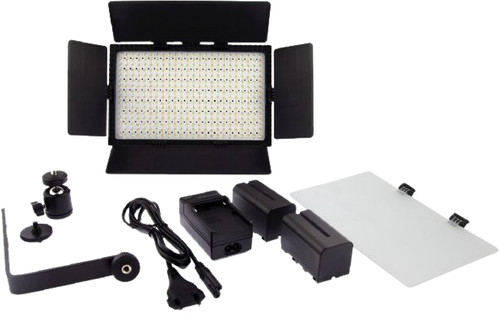 Falcon Eyes LED Lamp Set Dimbaar DV-384CT-K2 Main Image