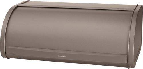 Brabantia Breadbox with Sliding Lid Platinum Main Image