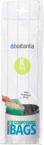 Brabantia Composteerbare Vuilniszakken Code K - 10 Liter (10 stuks) Main Image