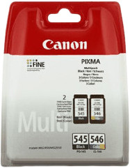 Canon PG-545/CL-546 Cartridges Combo Pack Main Image