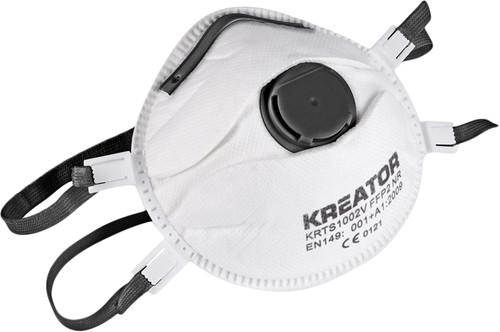 Kreator KRTS1003V Stofmasker FFP3 Valve (2x) Main Image