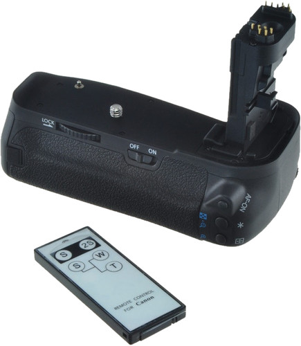 Jupio Battery Grip voor Canon 70D/80D Main Image