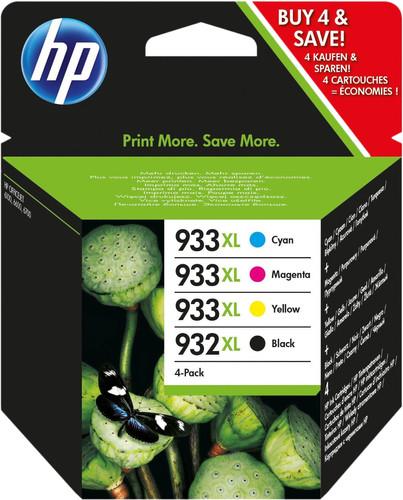 HP 932 / 933XL Cartridges Combo Pack Main Image