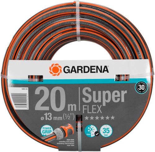 "Gardena Premium SuperFLEX Garden hose 1/2"" 20m Main Image"