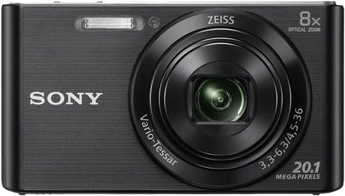 Sony CyberShot DSC-W830 Black Main Image