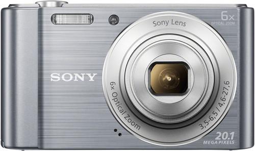 Sony CyberShot DSC-W810 Silver Main Image