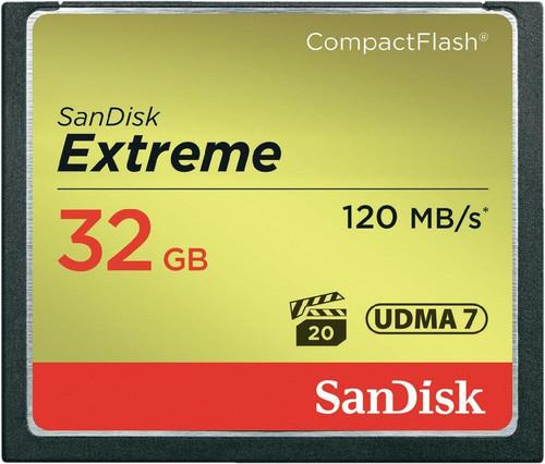 Sandisk CF Extreme 32GB 120MB/s Main Image