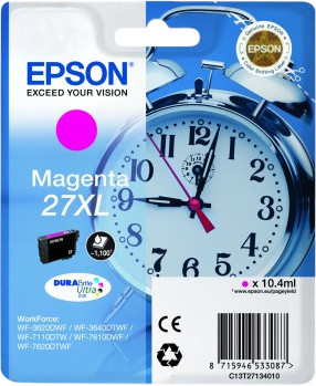 Epson 27XL Cartridge Magenta C13T27134010 Main Image