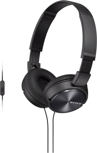 Sony MDR-ZX310AP Black Main Image