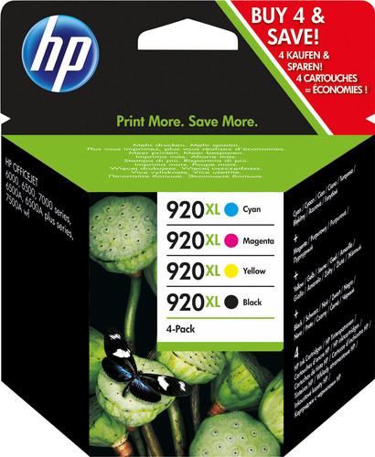 HP 920XL Cartridges Combo Pack Main Image
