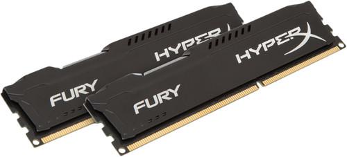 Kingston HyperX FURY 16GB DIMM DDR3-1866 Black 2x 8GB Main Image