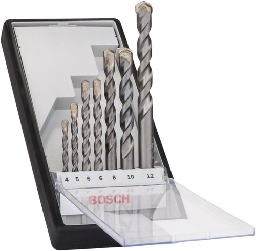 Bosch Robust Line 7-piece Stone Bore Set Main Image