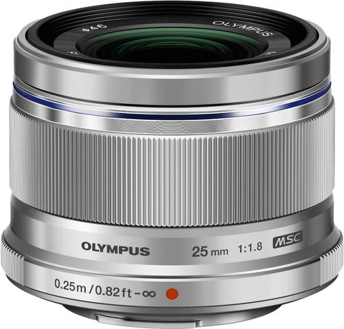 Olympus M.Zuiko Digital ED 25mm f/1.8 zilver Main Image
